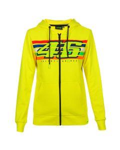 Valentino Rossi VR46 Stripes Damen Kapuzenpullover Hoody