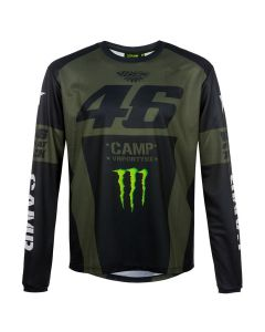 Valentino Rossi VR46 Monster Camp T-Shirt langarm