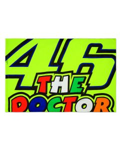 Valentino Rossi VR46 46 The Doctor zastava 140x90 cm