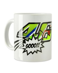 Valentino Rossi VR46 Pop Art šalica