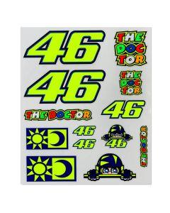 Valentino Rossi VR46 Big set nalepke