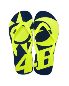 Valentino Rossi VR46 Sun and Moon Flip Flops