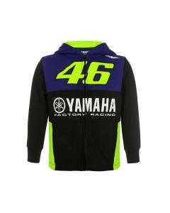 Valentino Rossi VR46 Yamaha otroška jopica s kapuco