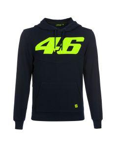 Valentino Rossi VR46 Core Blue pulover s kapuco