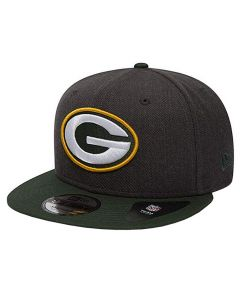 Green Bay Packers New Era 9FIFTY Heather Mütze