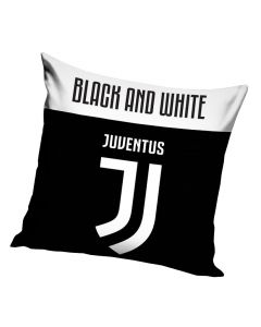 Juventus Black and White Kissen 40x40