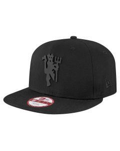 Manchester United New Era 9FIFTY Black Devil Mütze