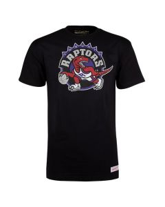 Toronto Raptors Mitchell & Ness Pushed Logo majica