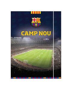 FC Barcelona Camp Nou mapa z elastiko