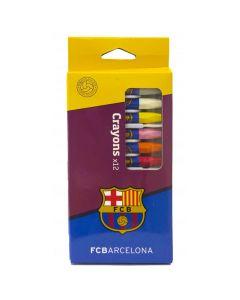 FC Barcelona Wachsfarbstifte 12 Stk.