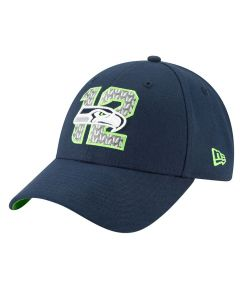 Seattle Seahawks New Era 9FORTY 2019 NFL Draft Mütze