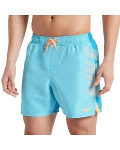 """Nike Volley 5"""" Blue Fury Badeshorts"""