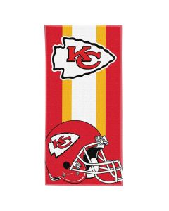 Kansas City Chiefs Northwest ručnik 75x150