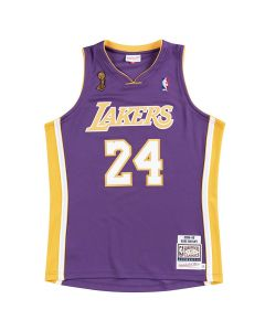 Kobe Bryant 24 Los Angeles Lakers 2008-09 Mitchell & Ness Authentic Road Finals Trikot