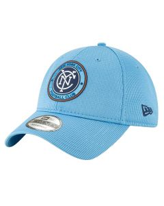 New York City FC New Era 9TWENTY 2019 MLS Official On-Field kapa
