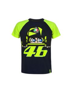 Valentino Rossi VR46 Sun and Moon Kinder T-Shirt