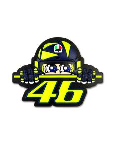 Valentino Rossi VR46 Sun and Moon magnet