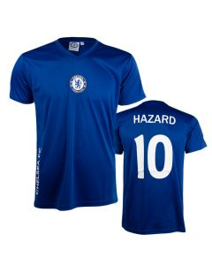 Hazard 10 Chelsea Poly Training T-Shirt Trikot