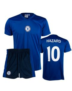 Hazard 10 Chelsea Kinder Training Trikot Komplet