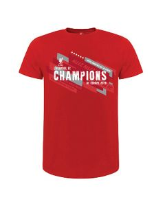 Liverpool Champions Of Europe 2019 T-Shirt