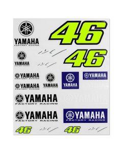 Valentino Rossi VR46 Yamaha Aufkleber