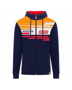 Jorge Lorenzo JL99 Repsol zip majica s kapuljačom