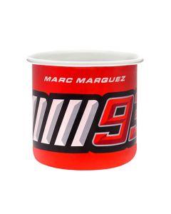 Marc Marquez MM93 emaillierte Tasse