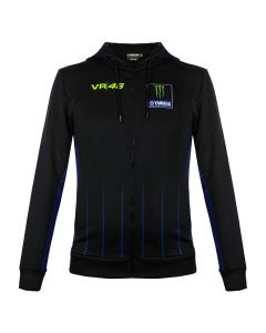 Valentino Rossi VR46 Yamaha Monster Black jopica s kapuco