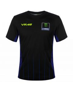 Valentino Rossi VR46 Yamaha Monster Black T-Shirt