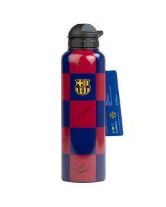 FC Barcelona alu flaška s podpisi 600 ml
