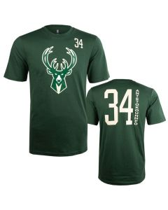Giannis Antetokounmpo 34 Milwaukee Bucks Standing Tall T-Shirt