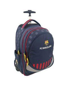 FC Barcelona Trolley šolski nahrbtnik na koleščkih