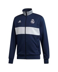 Real Madrid Adidas 3S Track Top zip majica dugi rukav