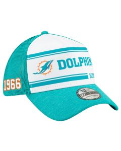 Miami Dolphins New Era 39THIRTY 2019 NFL Official Sideline Home 1966s kapa