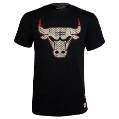 Chicago Bulls Mitchell & Ness Gold Logo majica