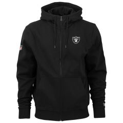 Oakland Raiders New Era Team Apparel Number zip majica sa kapuljačom