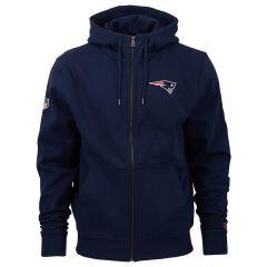 New England Patriots New Era Team Apparel Number duks sa kapuljačom