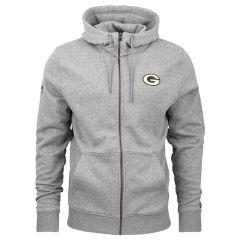 Green Bay Packers New Era Team Apparel Number zip majica sa kapuljačom