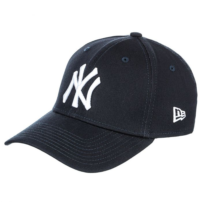 New York Yankees New Era 39THIRTY League Essential cappellino Navy  (10145636) 3ceeb6addff9