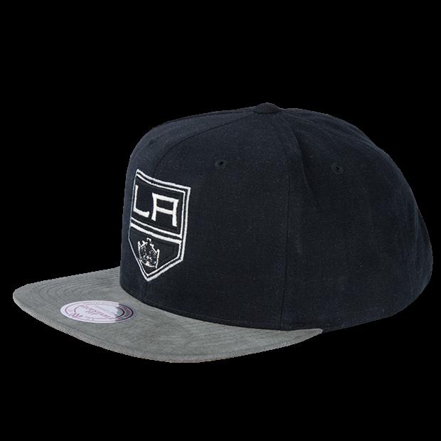 74b30b9c9d3 Los Angeles Kings Mitchell   Ness Sandy Off White Snapback cappellino