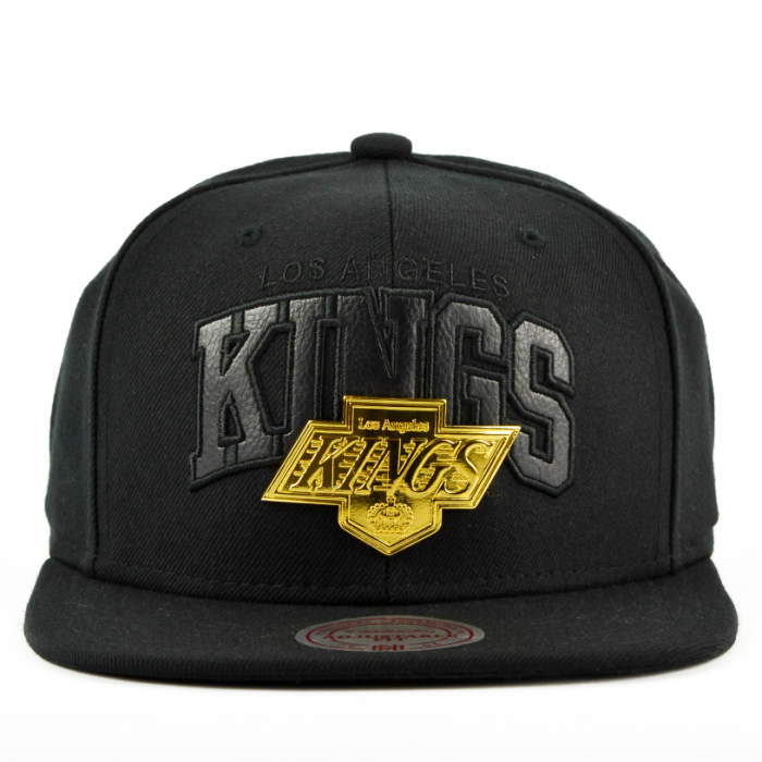 huge discount 8af53 51642 Los Angeles Kings Mitchell   Ness Lux Arch Snapback Mütze (EU942 LAKING)