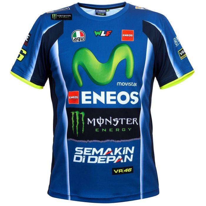 Valentino Rossi Vr46 Yamaha Dual T Shirt Replica Stadionshop