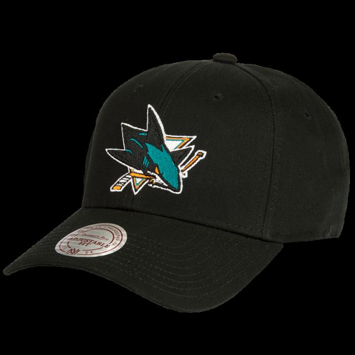 San Jose Sharks Mitchell & Ness Low Pro kapa