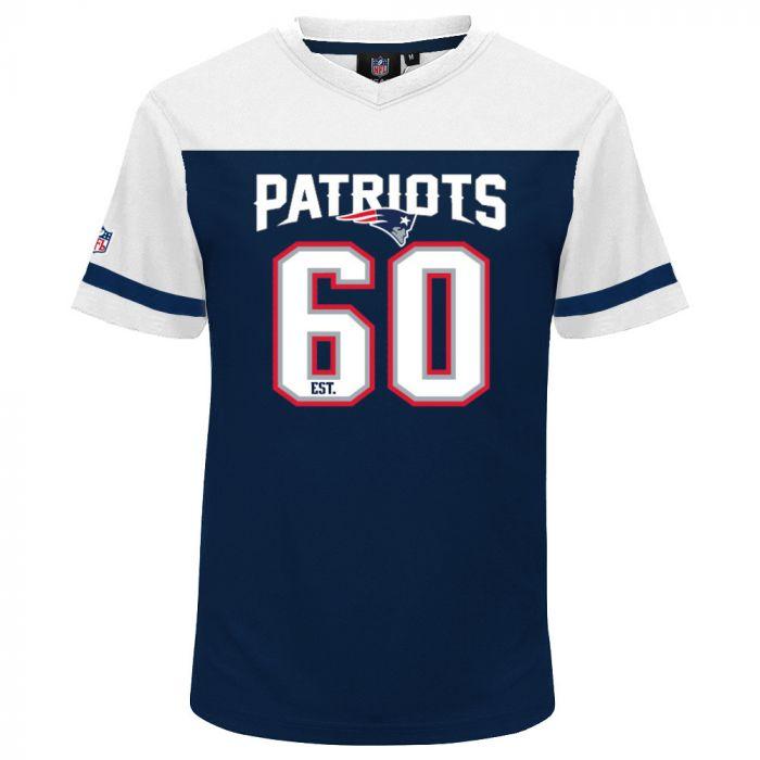 New England Patriots Mesh V-Neck majica