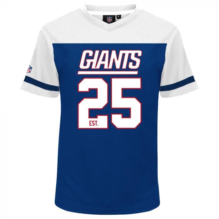 New York Giants Mesh V-Neck majica