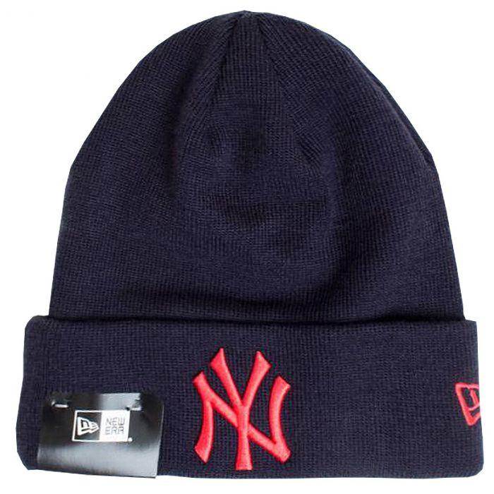 New York Yankees New Era League Essential Cuff cappello invernale (11493392) 95fb91ce58ea