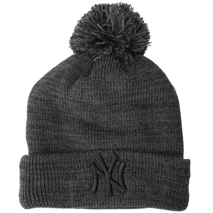 New York Yankees New Era Marl Bobble zimska kapa (80524575)