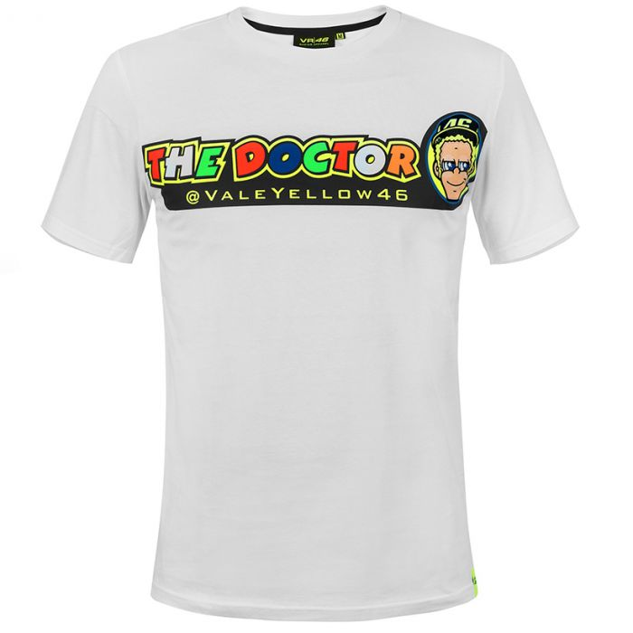 Valentino Rossi Vr46 Cupolino T Shirt Vrmts305506 Stadionshop
