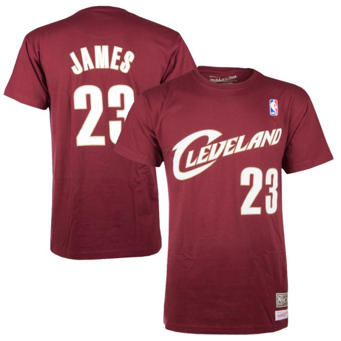 James LeBron 23 Cleveland Cavaliers Mitchell & Ness majica
