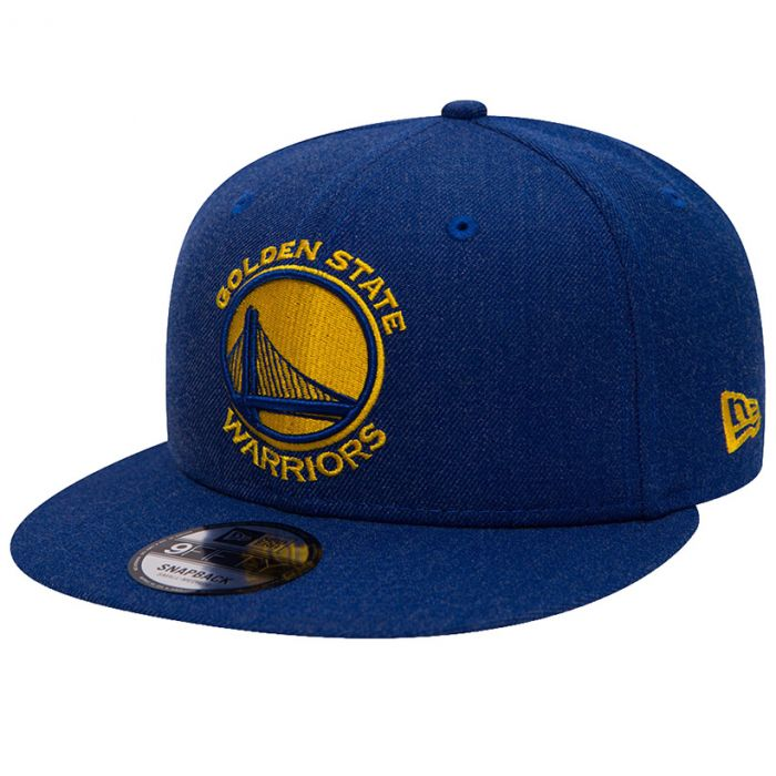 Golden State Warriors New Era 9FIFTY Team Heather kapa (80536659)